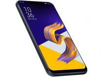 """Smartphone Asus Zenfone 5Z 128GB Preto 4G - 6GB RAM Tela 6,2"""" Câm 12MP + 8MP Selfie 8MP"""