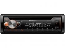Som Automotivo Pioneer CD Player MP3 AM/FM - Bluetooth USB Auxiliar DEH-X500BR