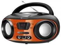 Som Portátil Mondial FM 8W CD Player  - Display Digital BX-18 Bluetooth Entrada USB