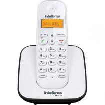 Telefone Sem Fio Intelbras TS3110 ID, Viva Voz, Visor Iluminado - Branco -