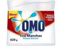 Tira Manchas Omo Roupas Brancas Em Pó - Sem Cloro Refil 420g