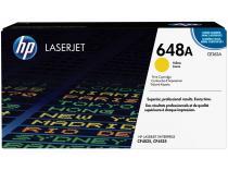 Toner HP Amarelo - LaserJet Enterprise 648A