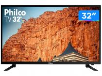 "TV HD LED 32"" Philco PTV32C30D - HDMI USB"